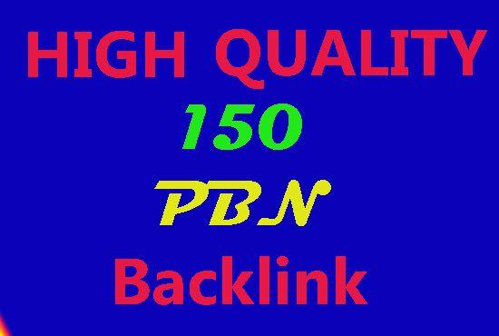 Manually do 150 high pa da tf cf homepage pbn backlinks