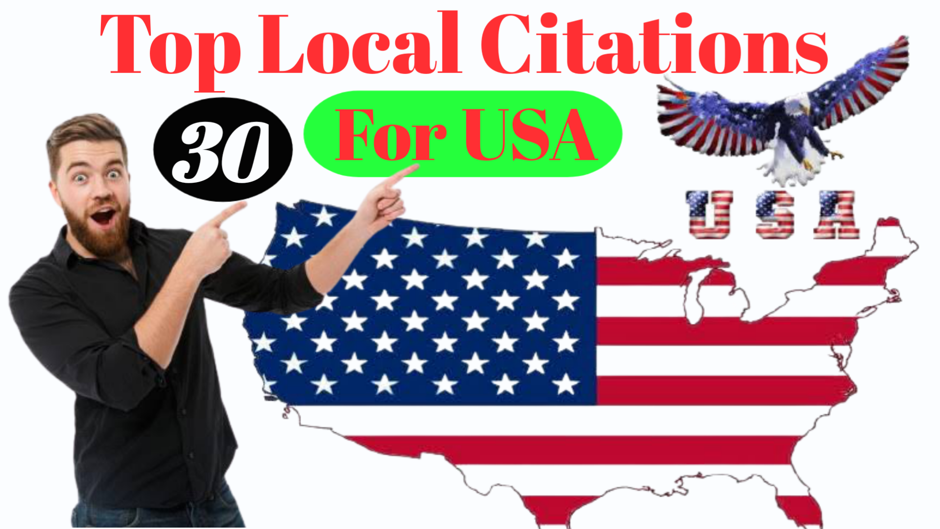 I Will Create Top 30 Live USA Local Citations For Your Business.