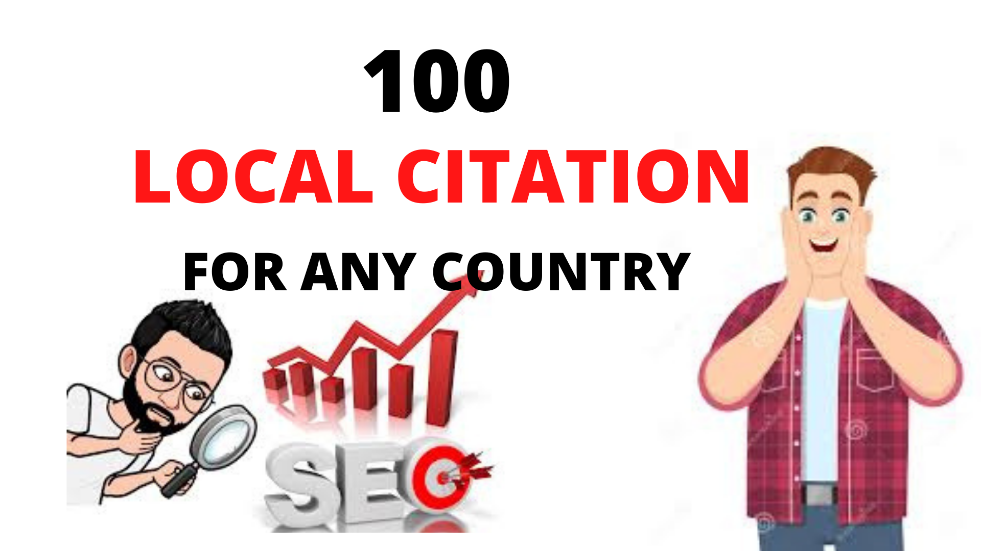 I will do 100 Local Citations or Local SEO Business Listings To Rank Your Business.