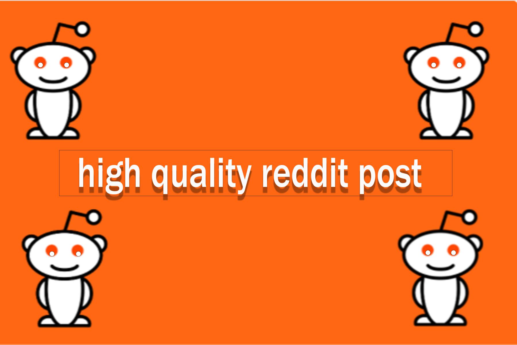 Get DA97 60 High Quality Backlinks From Reddit post