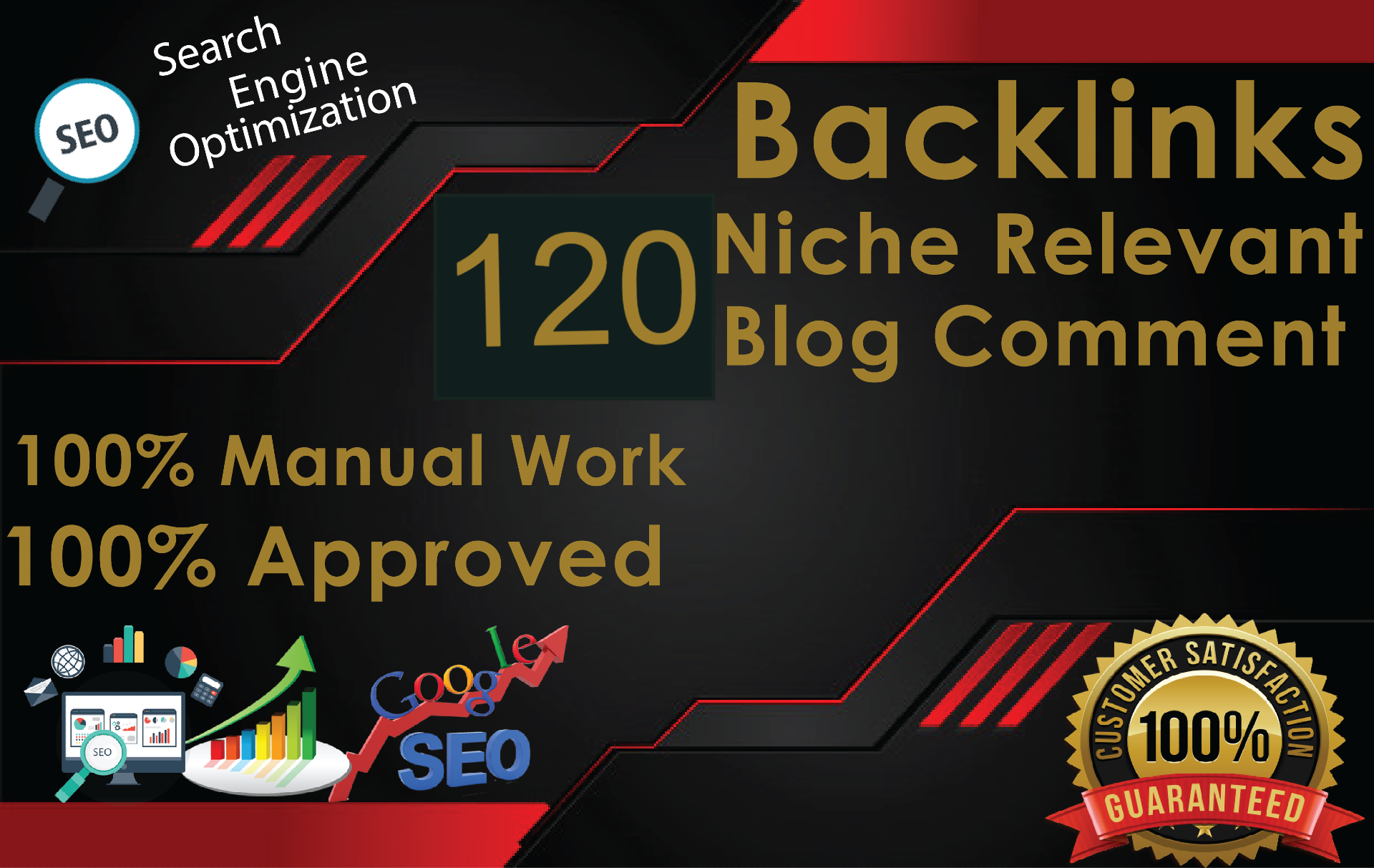 I will do 45 Niche Blog Comment and Backlinks SEO service