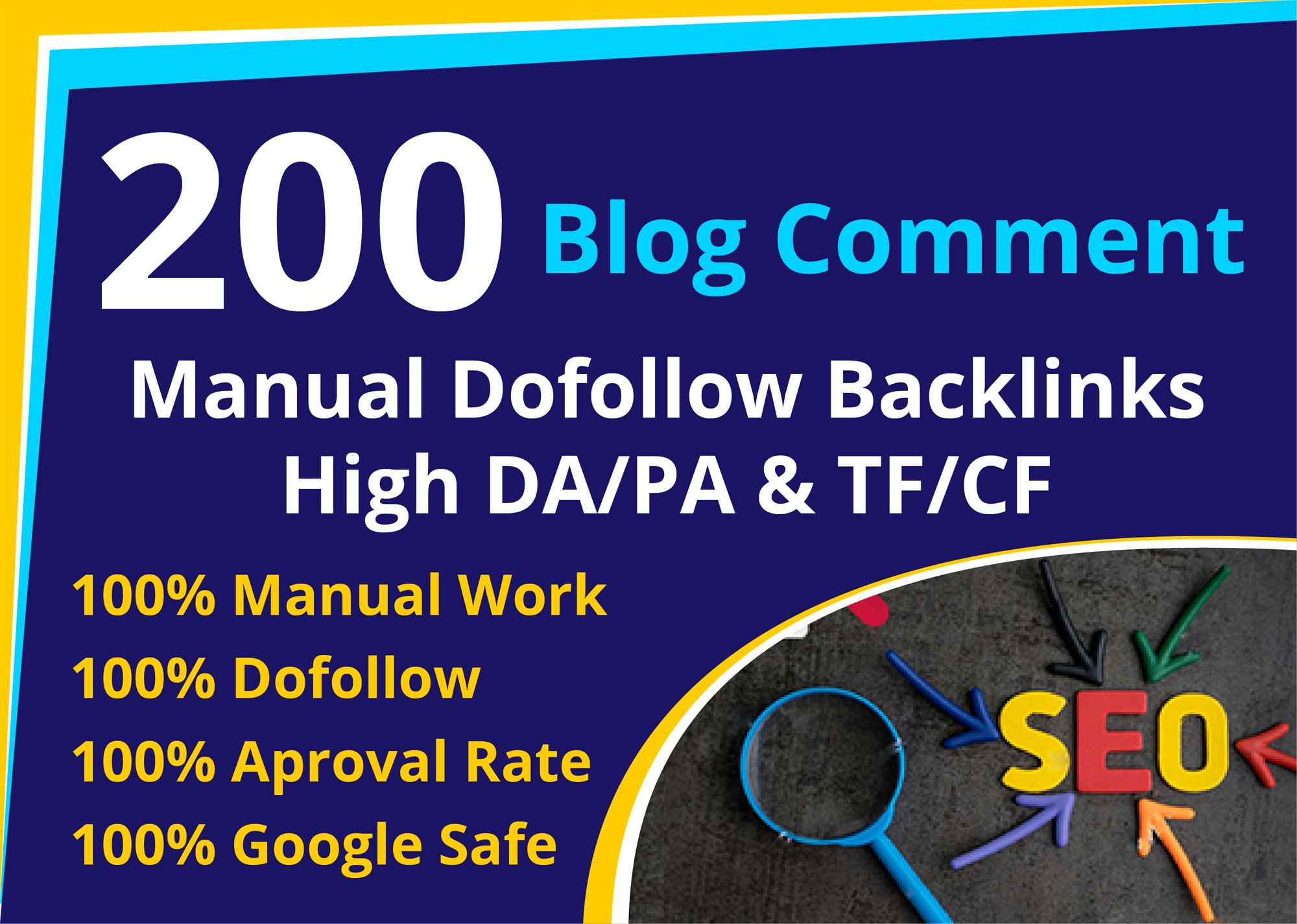 I will do 150 dofollow blog comments