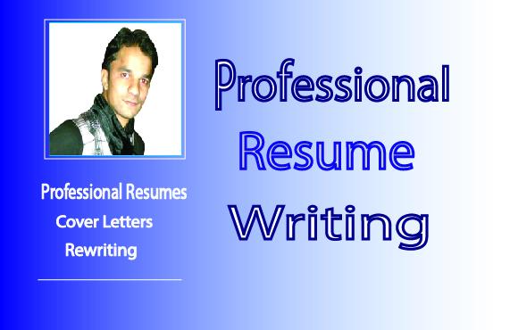 I am Professional Resume Writer I write fully Customised Resume