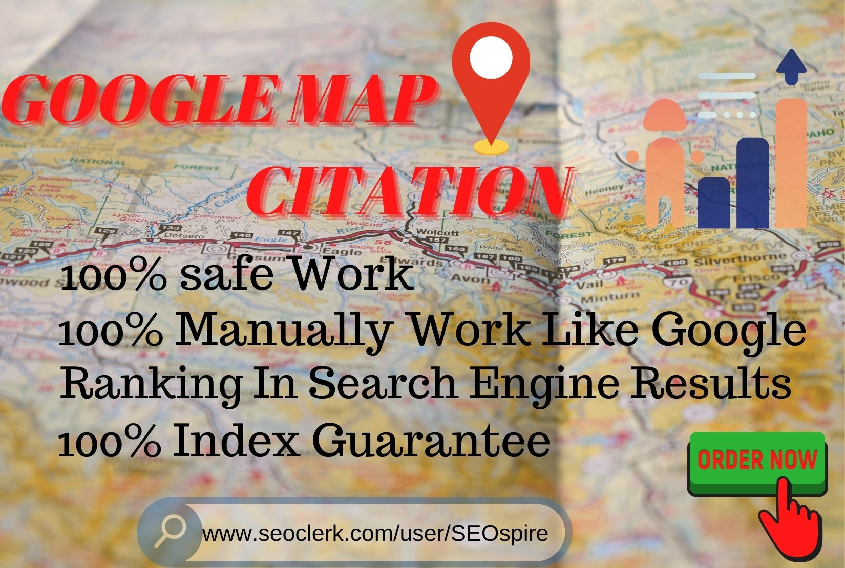 Build Manually 200 google map citations for local SEO