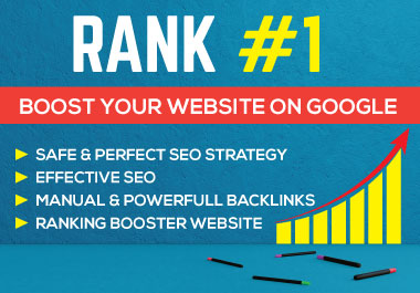 Rank Your Website On Google Top Page By Link building & Boosting