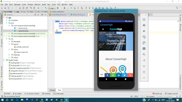 Convert your website in to android app
