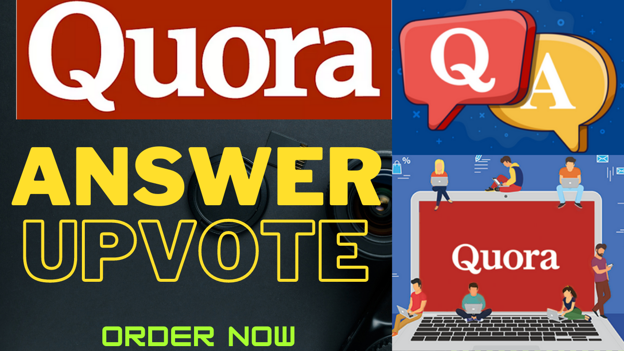 Promote Website with 20 Quora Answers + 50 USA Upvotes