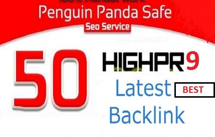 50 USA powerful pr9 profile seo backlinks,  linkbuilding manually