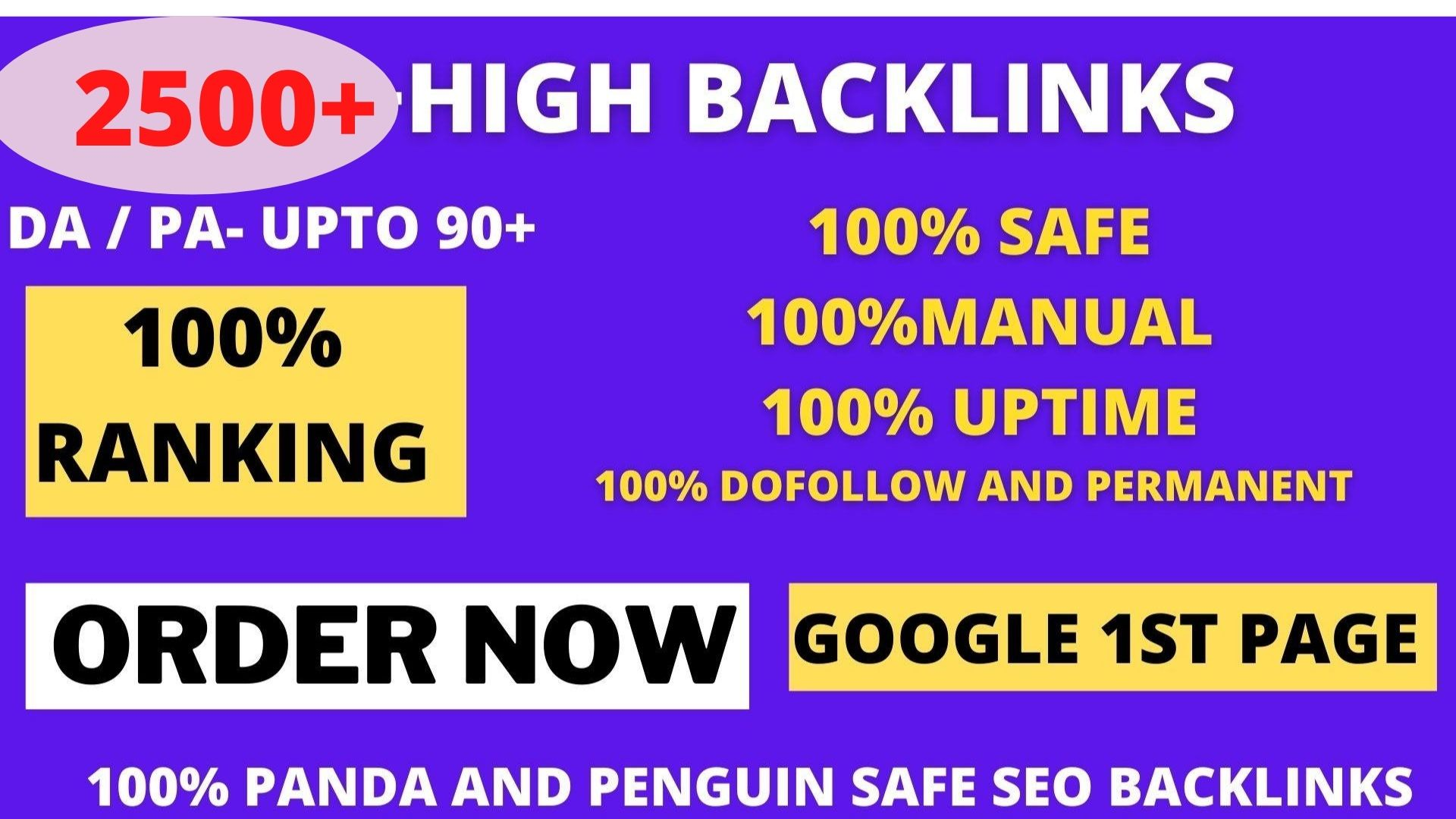 Get powerful 2500+ pbn backlinks with high DA/PA on your homepage with a unique website