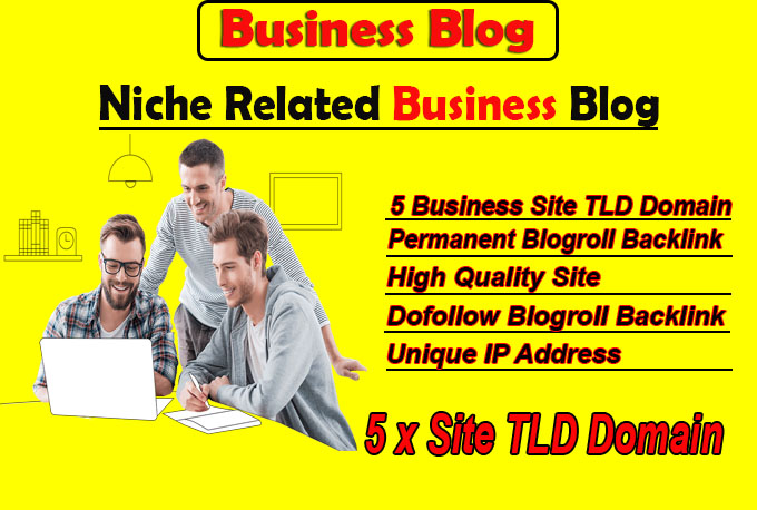 give link 5 site business tld blogroll permanent