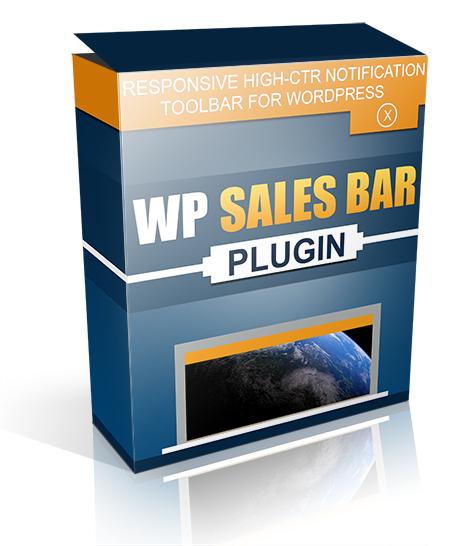 WORDPRESS SALES BAR PLUGIN Responsive high CTR tool bar for WordPress