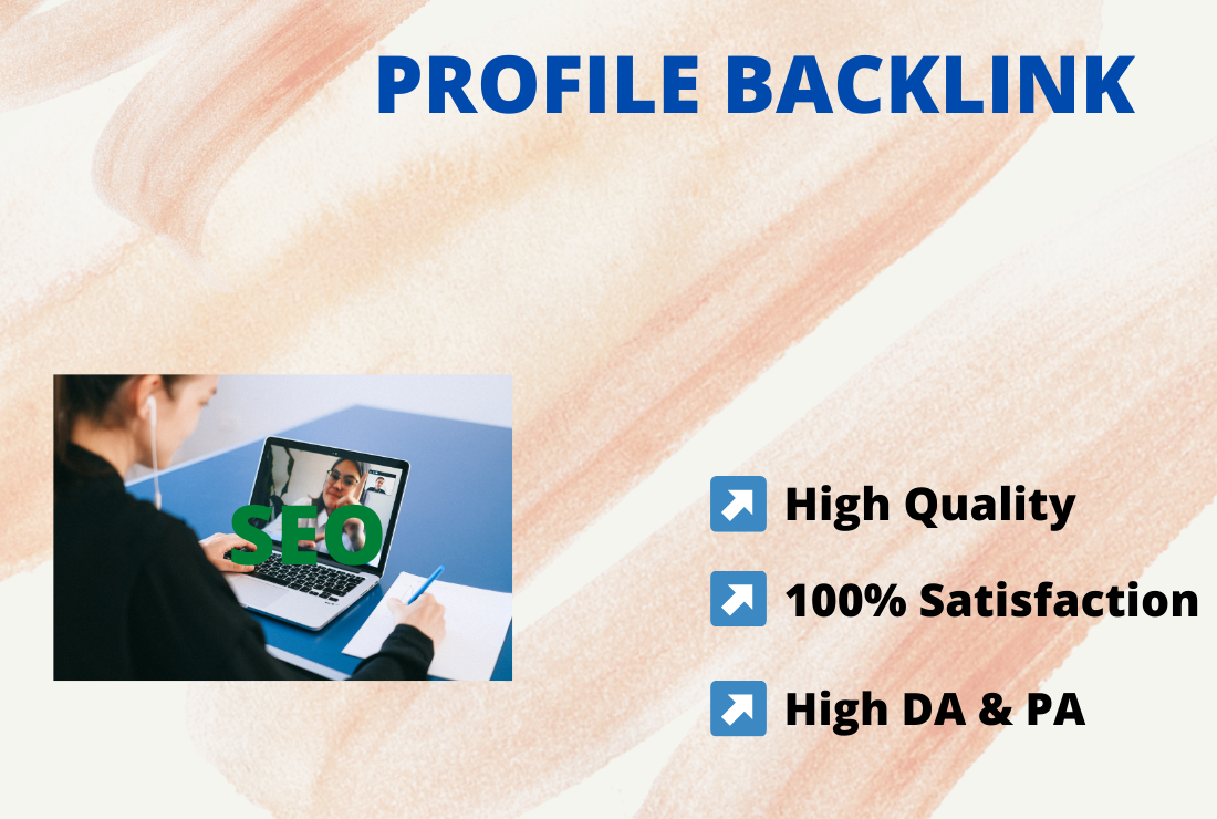 I will create 200 high authority profile backlinks manually
