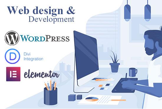 Unique Wordpress website webdesigner