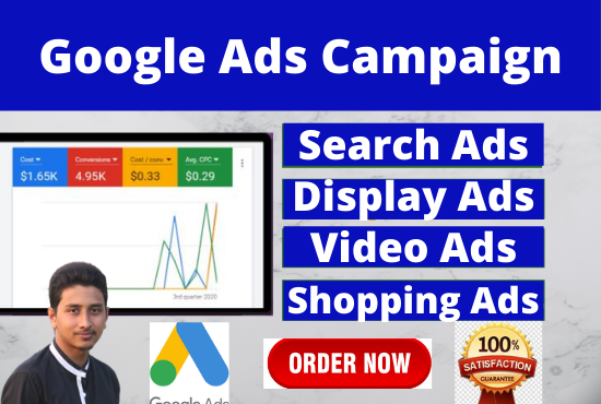I will setup an exceptional google ads adwords ppc campaigns.