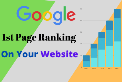 Google 1st Page Ranking With Most Effective Linkbuilding