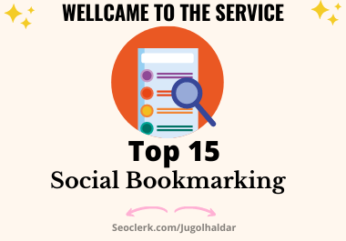 Manually Top 15 Social Bookmarking for Rank your Sites