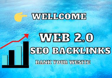 I WIll create 100+ High DA Web 2.0 Seo Backlinks