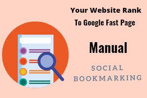 Get Manual 50 PR7-PR10 Social Bookmarking,  Backlinks with Boost alexa Ranking