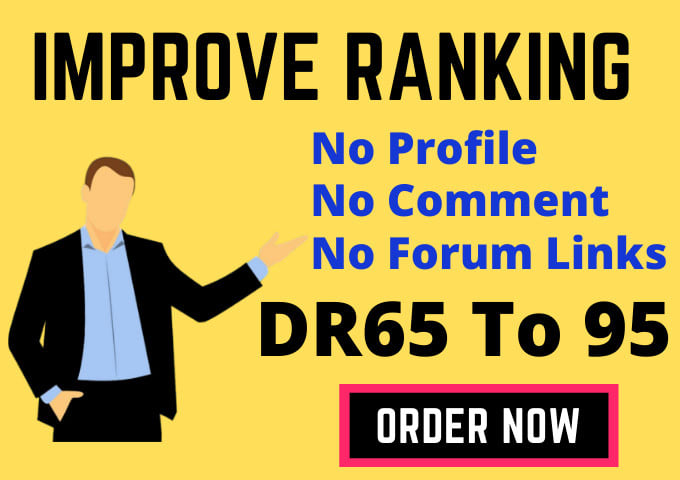 I will make 35 high quality authority SEO dofollow backlinks link building
