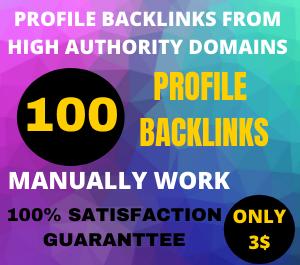 I will build 100 pr9 backlinks from manually high DA/PA