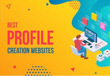 I will do 200 social profiles setup or profile creations backlinks