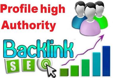I will do 500 social profiles setup or profile creations backlinks
