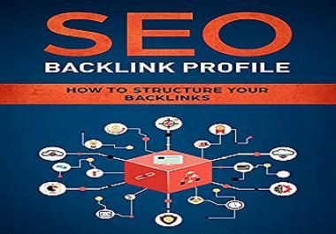 I will build 100 high da dofollow profile backlinks SEO
