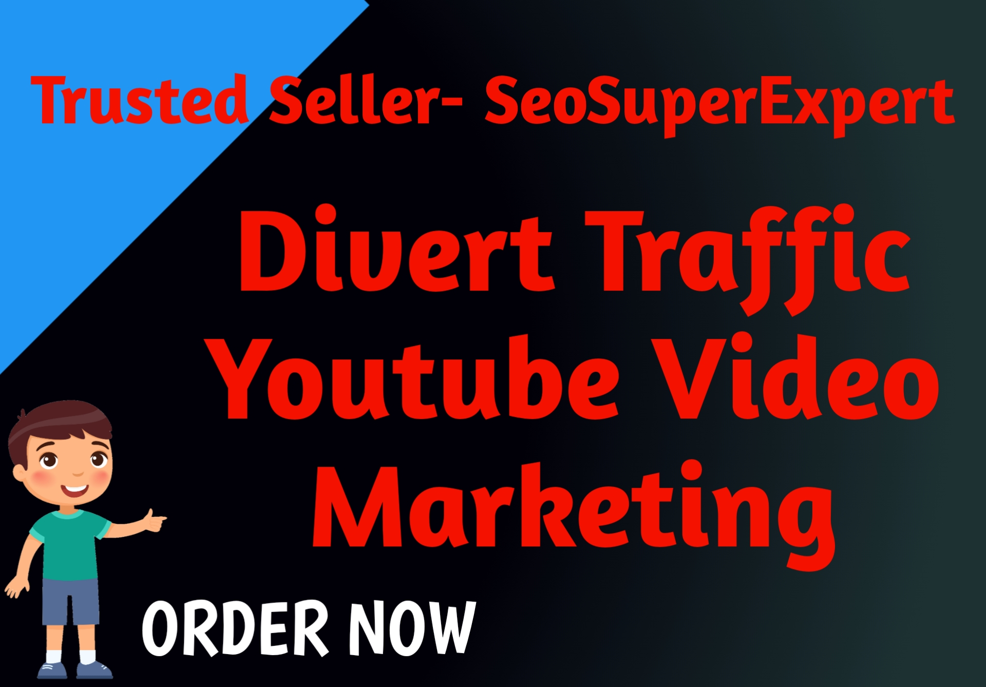 Divert Traffic For Youtube Video Promotion Marketing