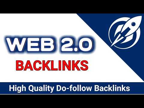 I will create 50 Dofollow Web2.0 Backlinks With High Da PA Rank your Website