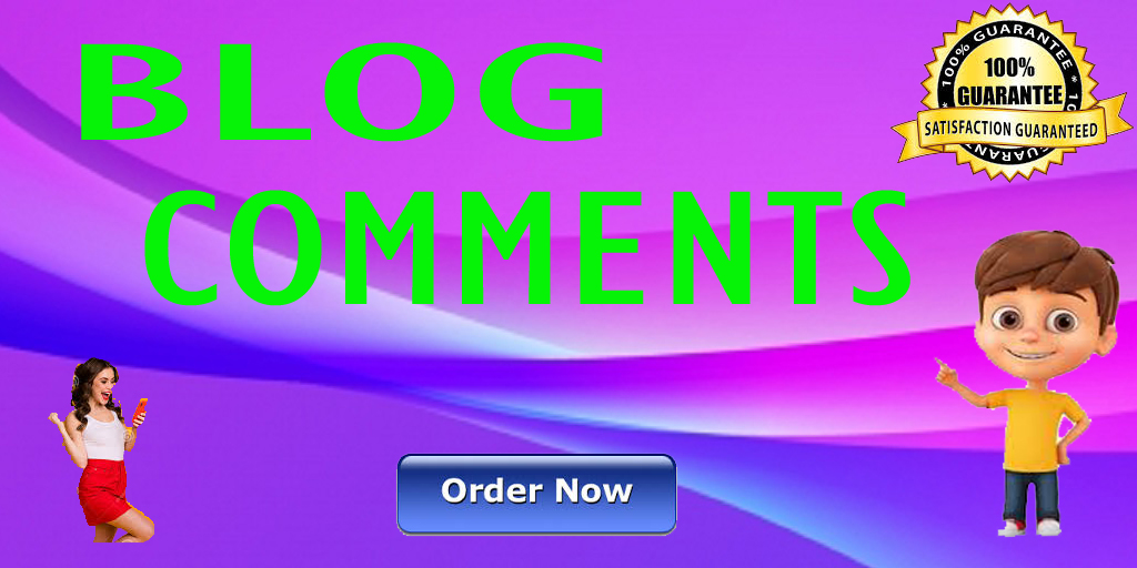 I will Do Manually 100 High Blog Backlink Comments For Your Website