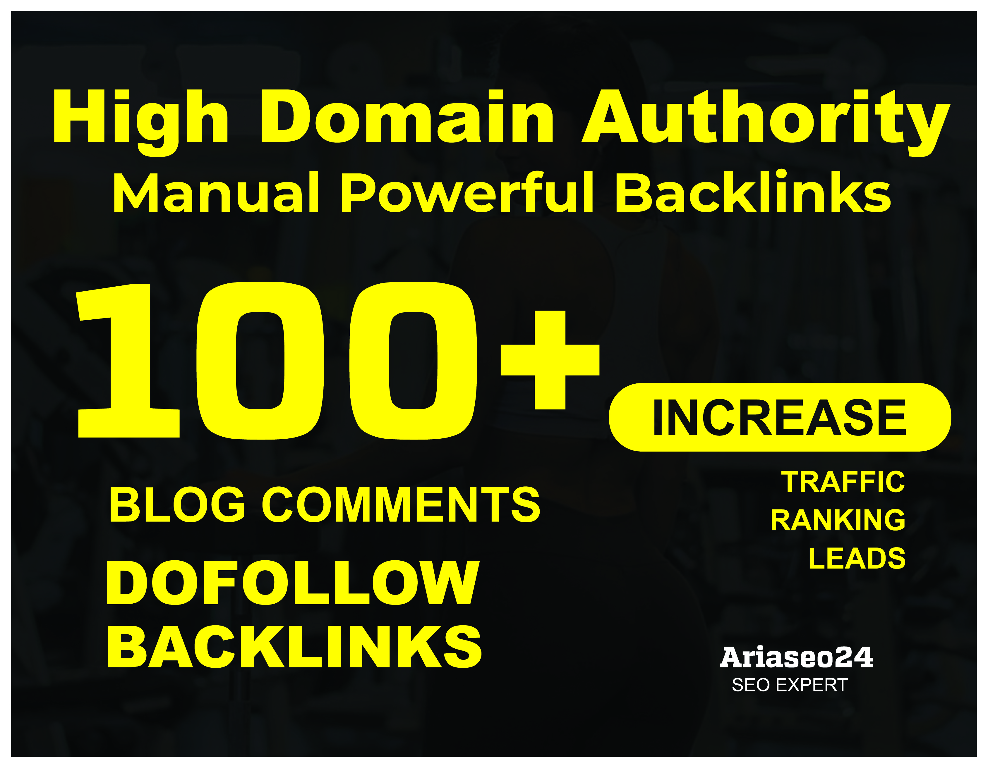 100+ HQ Blog Comments Backlinks For Google Ranking.
