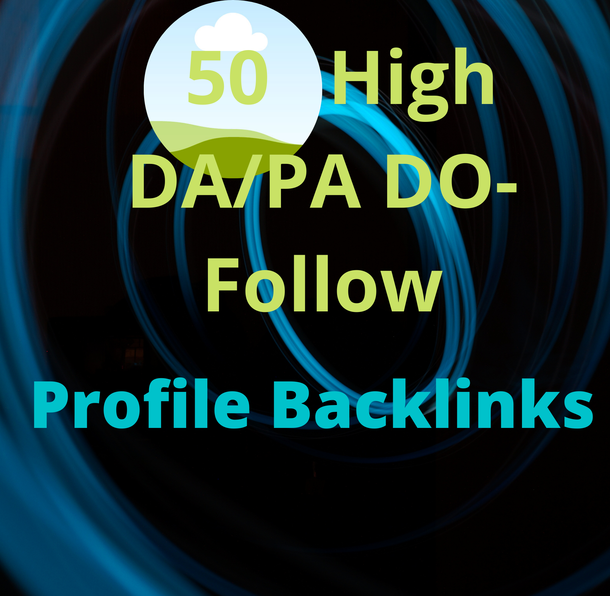 Unique 50 Profile Backlinks High DA PA