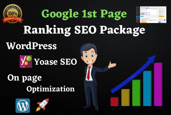 Rank Google 1st Page Premium WordPress Yoast SEO Setup,  On Page Optimization & Schema Markup in 2021
