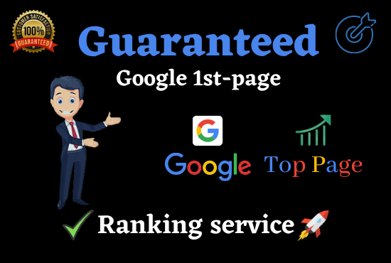 Get Guaranteed Google 1st Page Ranking with Best Link building