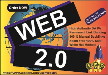 Do Web 2.0 Contextual 10 High DA Manual BackLinks Help quick Rank and Boost up your site