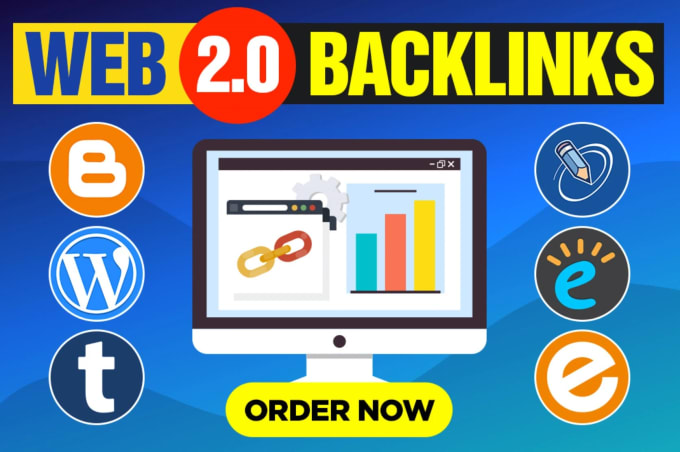 I will create High Quality 10 Web 2.0 seo backlinks