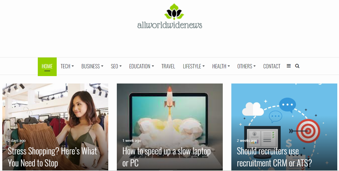 I can be able to get publish a guest post on Allworldwidenews. com DA-60 Dofollow backlinks
