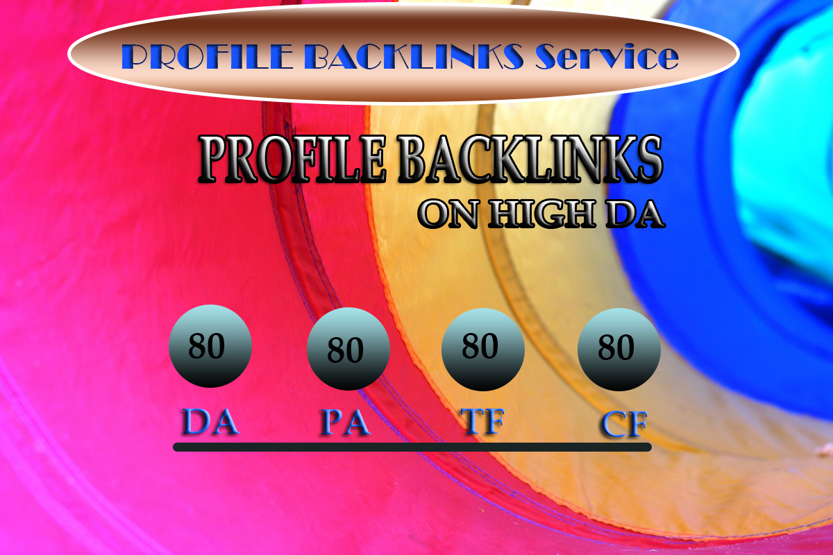 I will Boost Your website Ranking With 25 Profile Backlinks And 100 Unique High Authority Blog comme