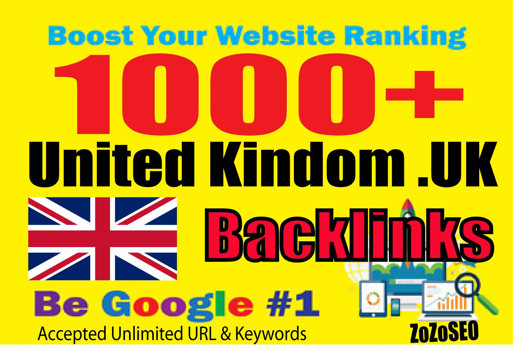 1000+ United Kingdom. UK Backlinks From Local UK domains