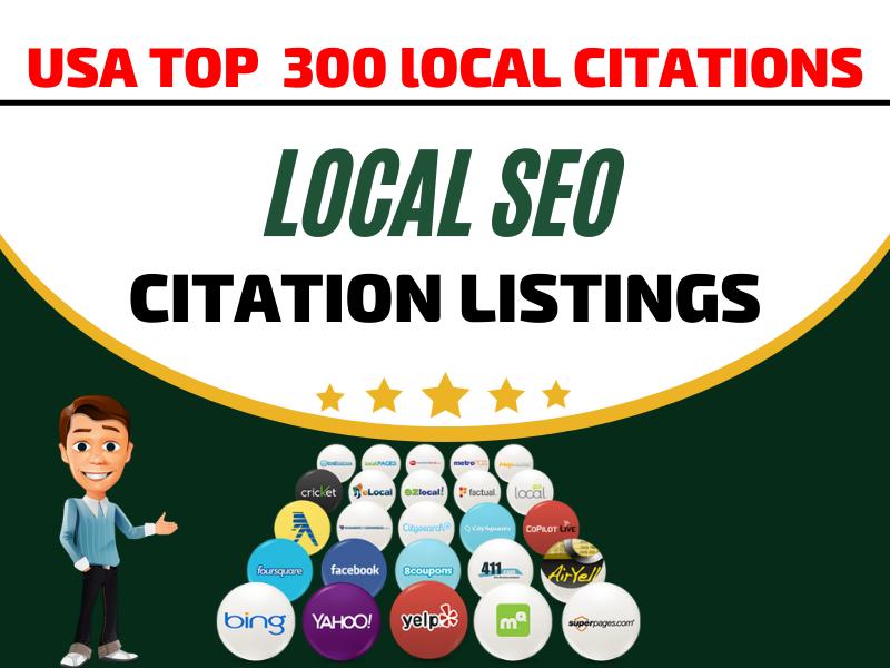 I Will do USA high quality 30 local citations