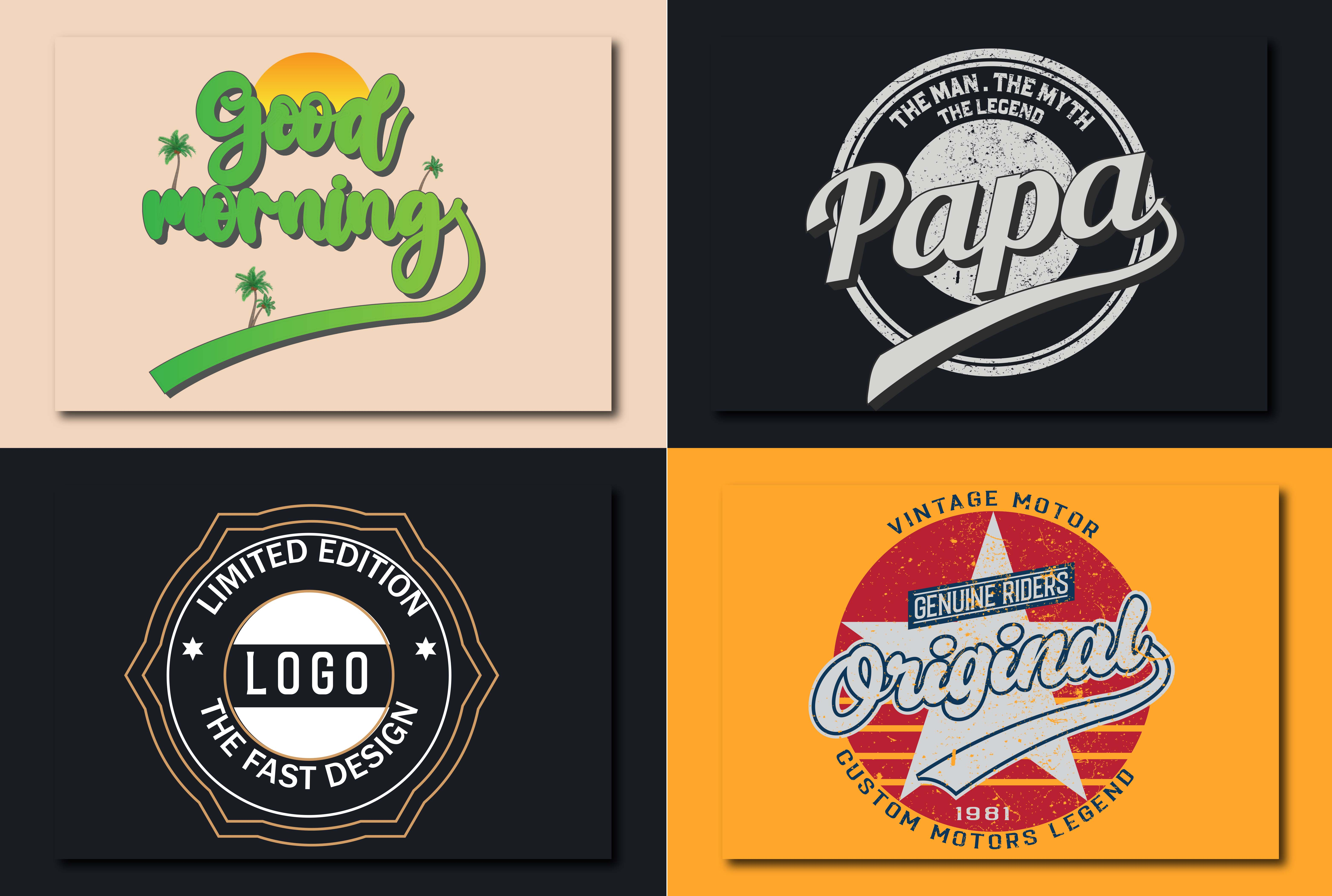 I will design awesome retro vintage badge logo in 24 hours