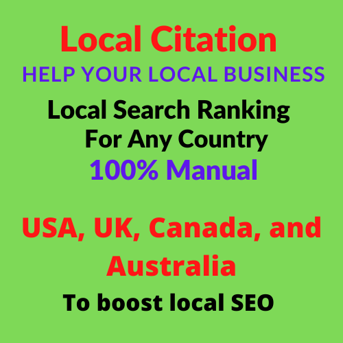 I will do 20 live Local Citations / Local Listings helps businesses to rank higher