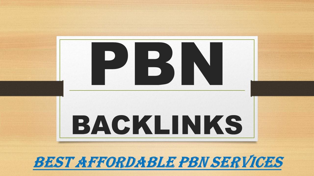 Build 20 powerful SEO permanent PBNs backlinks