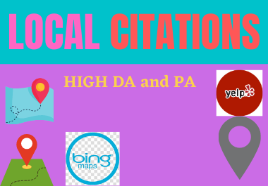 Live 15 Local Citations for your business local listing local directory