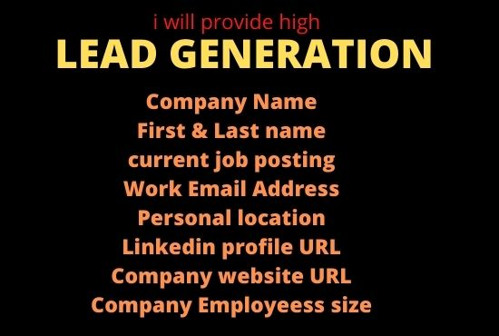 I Will Provide Valid Targeted Lead Generation from LinkedIn Ladies for Your Business