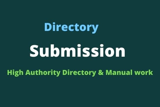 i will do 150 High Authority Directory Sumissions
