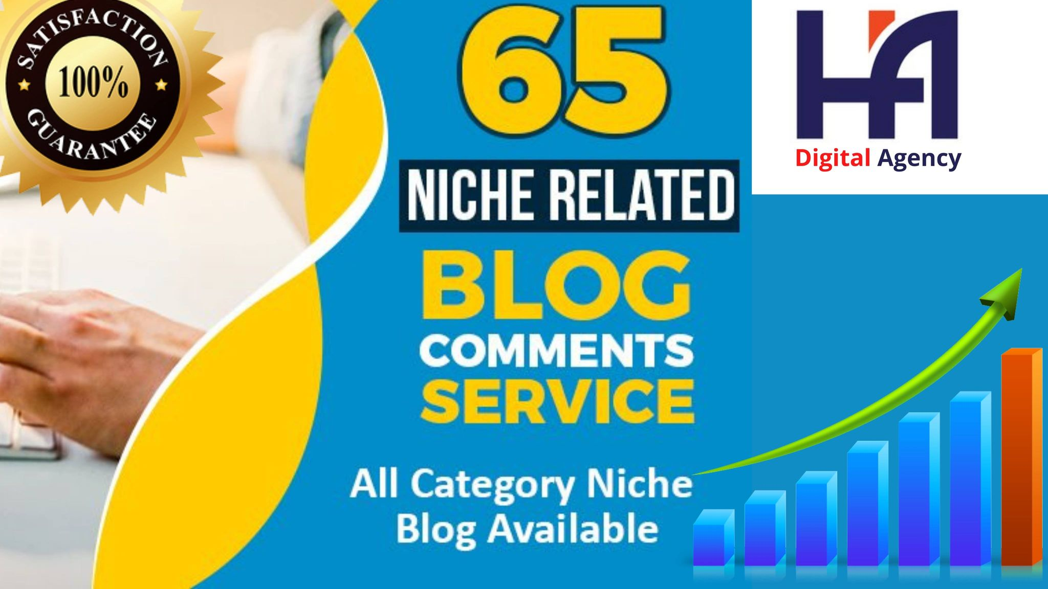 i will Create 65 niche relevant blog comment backlinks