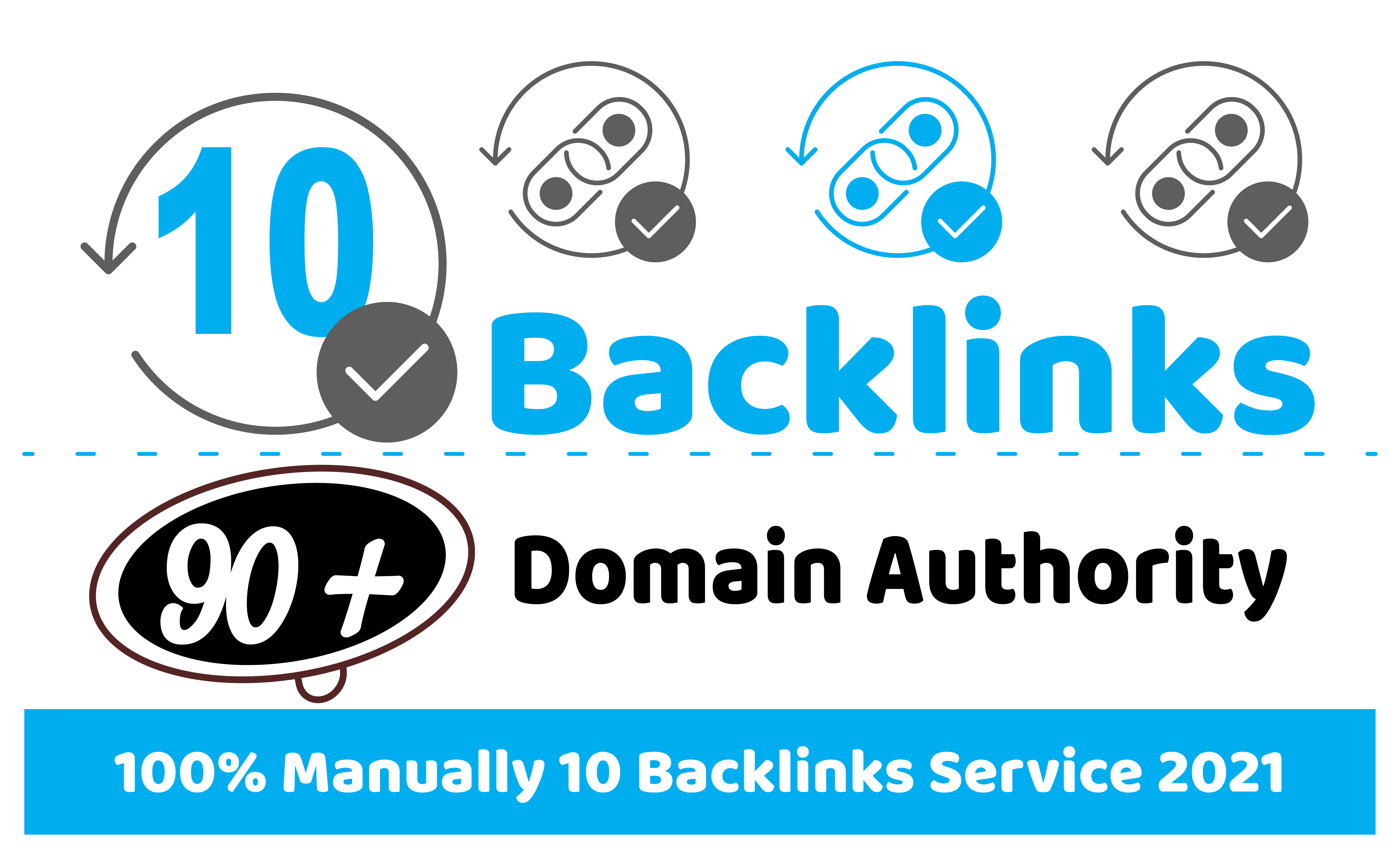 10 Contextual Web 2.0 90+ DA Seo Dofollow Manual Blogs Backlinks with Niche Related Articles and I