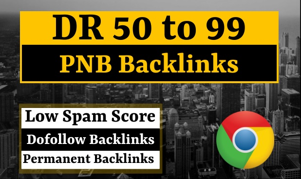 I Will create 25 High DR and DA PBNs for you