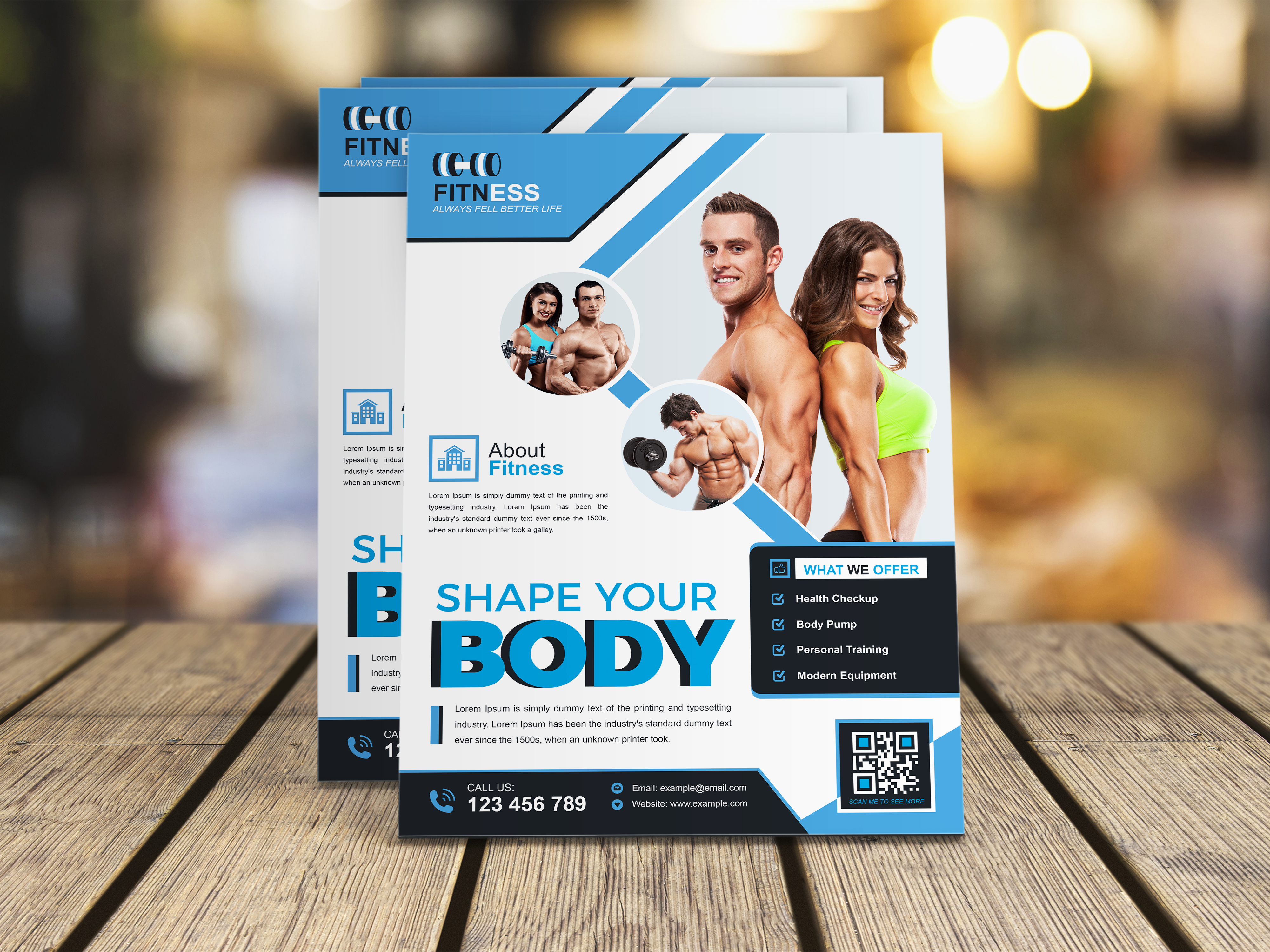 I will design an attractive flyer for your business